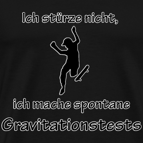 Gravitationstests - Männer Premium T-Shirt
