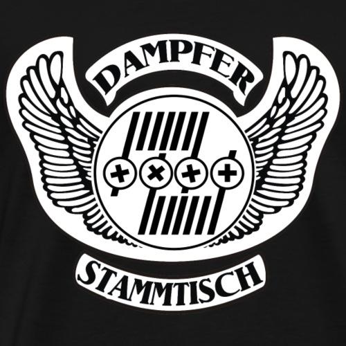 Dampfer-Stammtisch - Männer Premium T-Shirt
