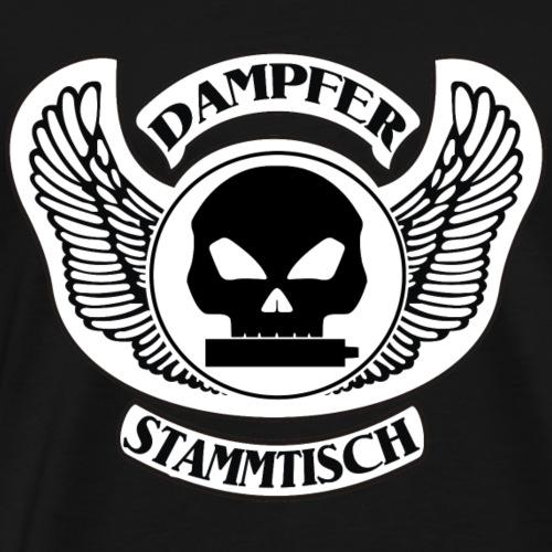 Dampfer-Stammtisch Variante 2 - Männer Premium T-Shirt
