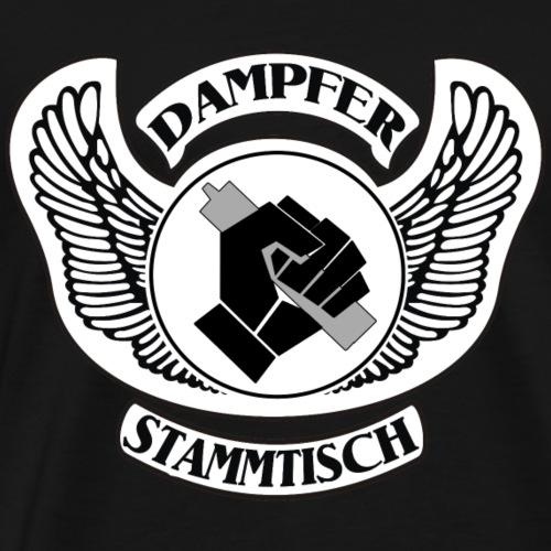 Dampfer-Stammtisch Variante 3 - Männer Premium T-Shirt