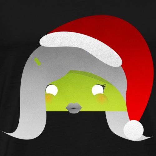 logo femme android noel - T-shirt Premium Homme
