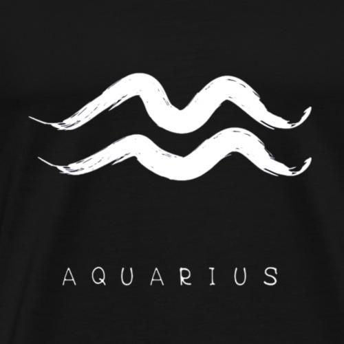 Aquarius Sign and Text