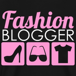 Fashion Blogger - Premium T-skjorte for menn