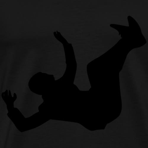 Falling Man - Männer Premium T-Shirt