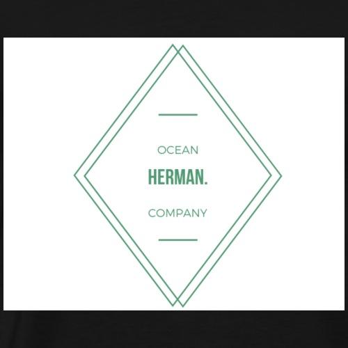 HERMAN DOUBLE TRIANGLE - Camiseta premium hombre