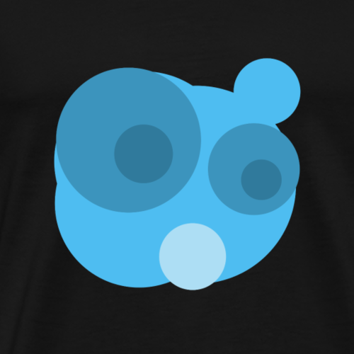Blublu personaje - Camiseta premium hombre