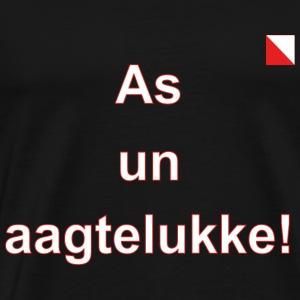 As un aagtelukke1 def w - Mannen Premium T-shirt
