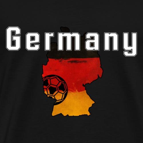 Deutschland-Fanshirt - Männer Premium T-Shirt
