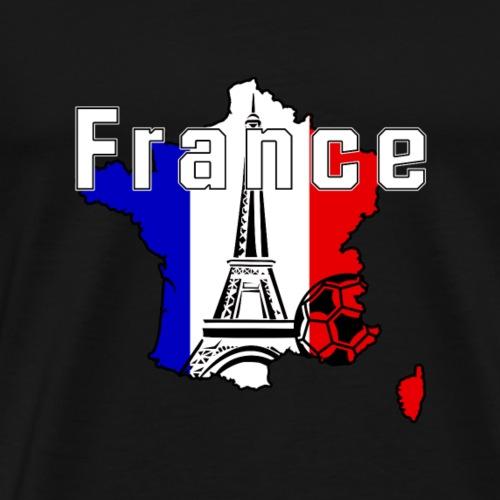 Frankreich-Fanshirt - Männer Premium T-Shirt