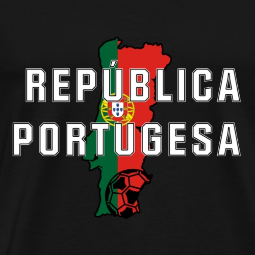 Portugal-Fanshirt - Männer Premium T-Shirt