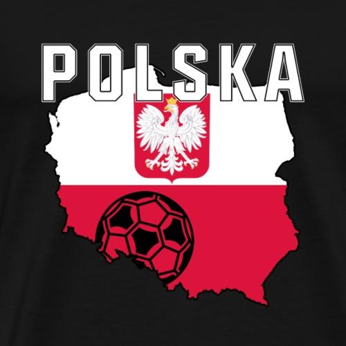 Polska-Fanshirt - Männer Premium T-Shirt