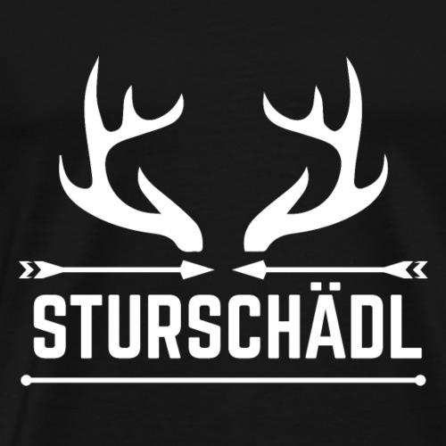 Sturschädl - Männer Premium T-Shirt