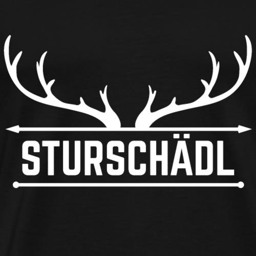 Sturschaedl - Männer Premium T-Shirt