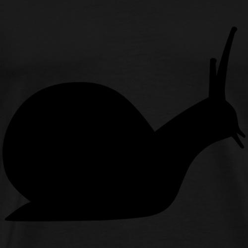 faule Schnecke - Männer Premium T-Shirt