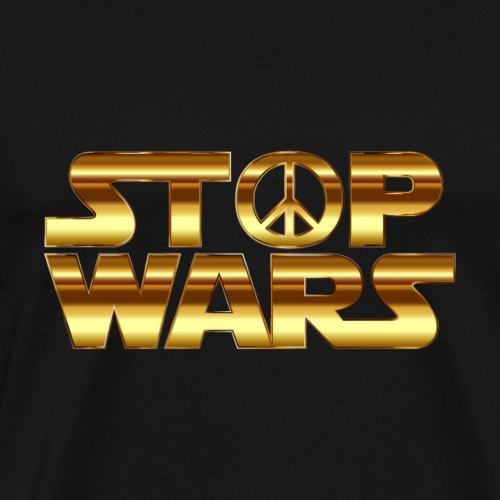 STOPP WARS - Männer Premium T-Shirt