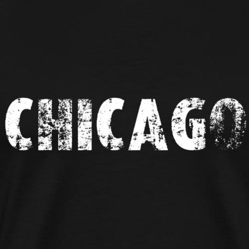 Chicago (2572) - Männer Premium T-Shirt