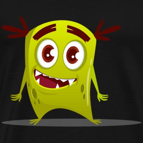 Grüne Monster - Männer Premium T-Shirt