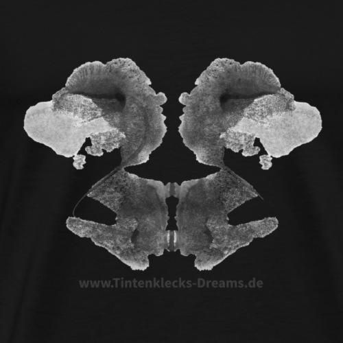 Tintenklecks-Dreams 9177 Motiv Seite 86, b&w - Männer Premium T-Shirt