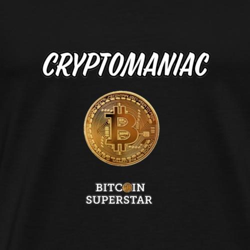 Cryptomaniac - Maglietta Premium da uomo