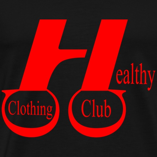 Health clothing club red - Men's Premium T-Shirt