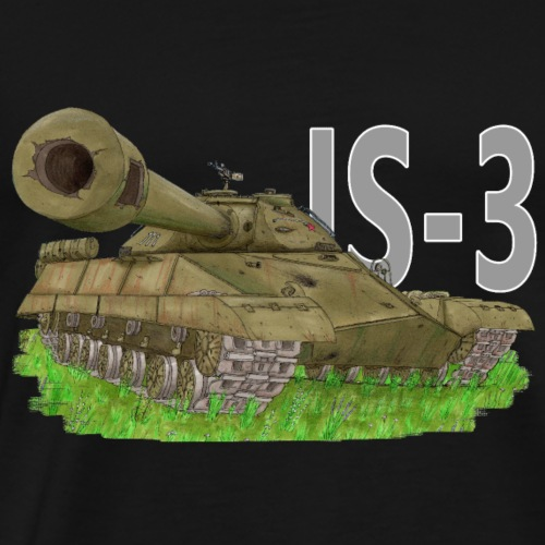 IS-3 (Writing) - Maglietta Premium da uomo