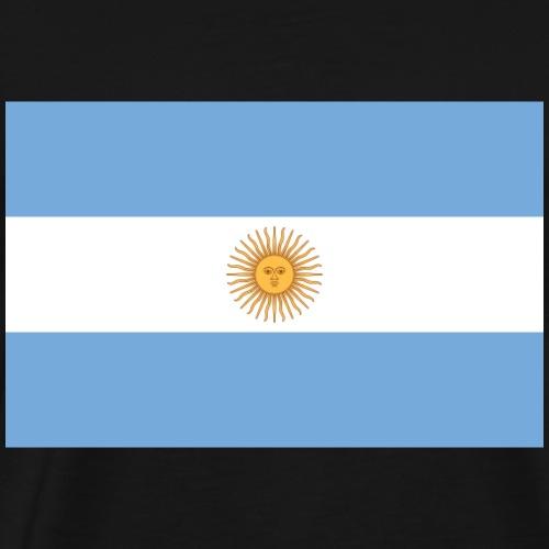 Argentinische Fahne - Männer Premium T-Shirt