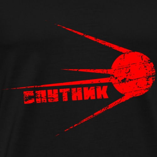 Sputnik - Männer Premium T-Shirt