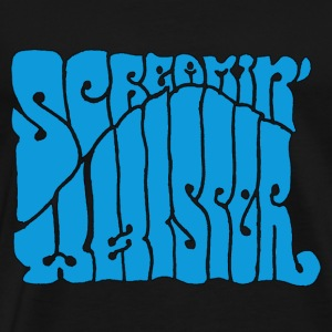 Screamin' Whisper Retro Logo - Men's Premium T-Shirt