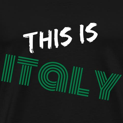 Das ist Italien - Männer Premium T-Shirt