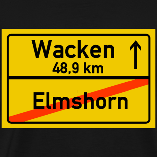 elmshorn ballern - Männer Premium T-Shirt