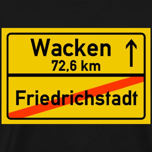 friedrichstadt ballern - Männer Premium T-Shirt