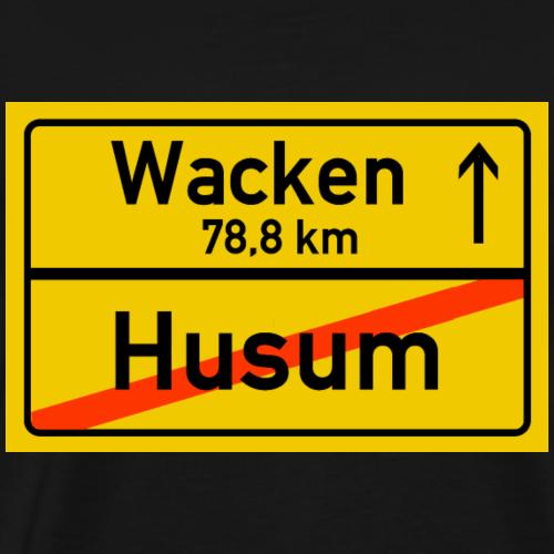 husu ballern - Männer Premium T-Shirt