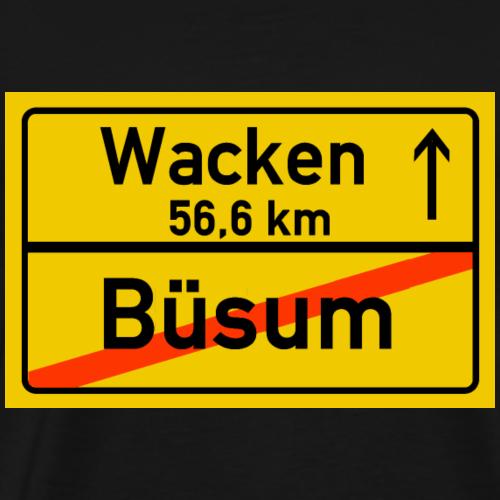 buesum ballern - Männer Premium T-Shirt