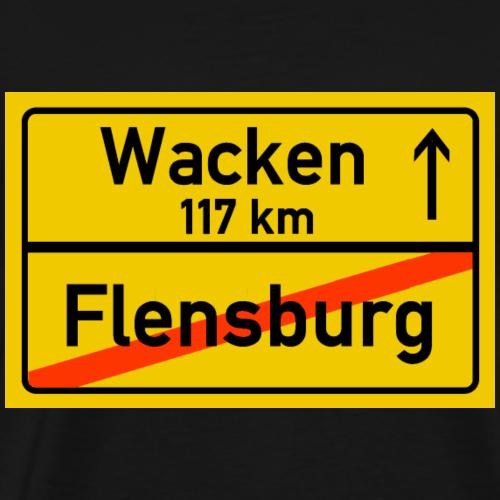 flensburg ballern - Männer Premium T-Shirt