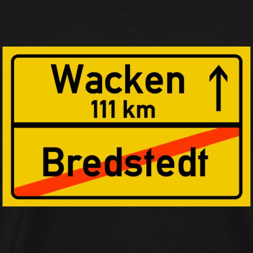 bredstedt ballern - Männer Premium T-Shirt