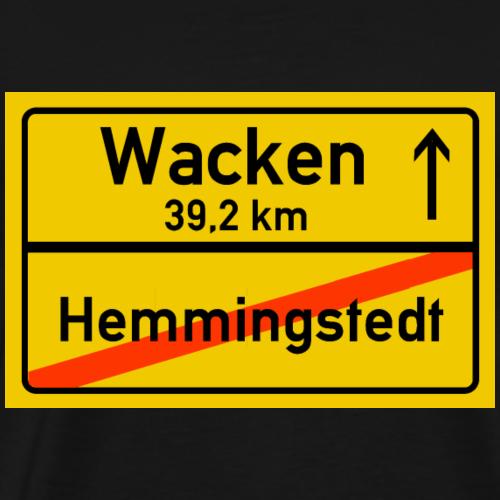 hemmingstedt ballern - Männer Premium T-Shirt