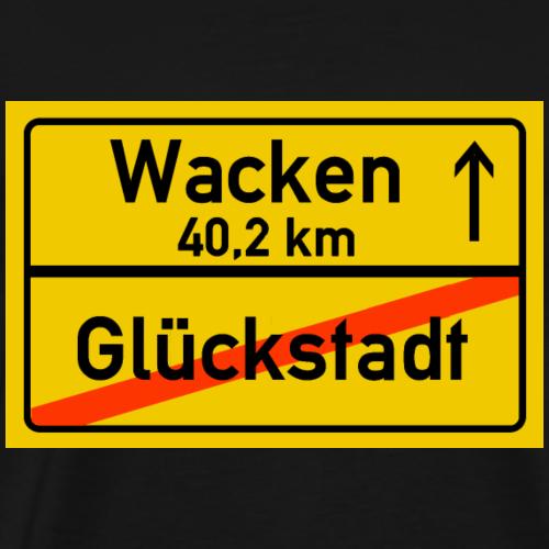 glueckstadt ballern - Männer Premium T-Shirt