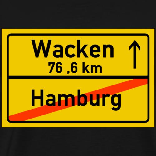hamburg ballern - Männer Premium T-Shirt