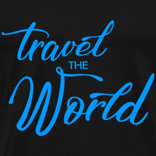 travel the world - Männer Premium T-Shirt
