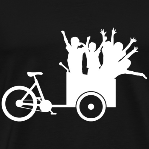 Lastenrad Kinder - Männer Premium T-Shirt