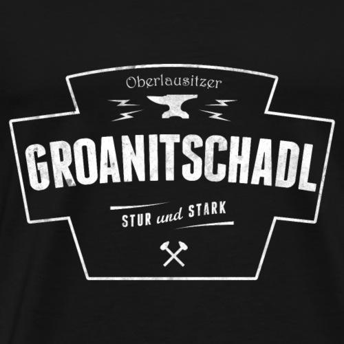 Groanitschadl - stur und stark - Oberlausitz Shirt - Männer Premium T-Shirt