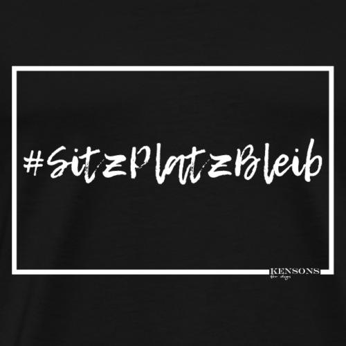 #SitzPlatzBleib | Hundeshirt - Männer Premium T-Shirt