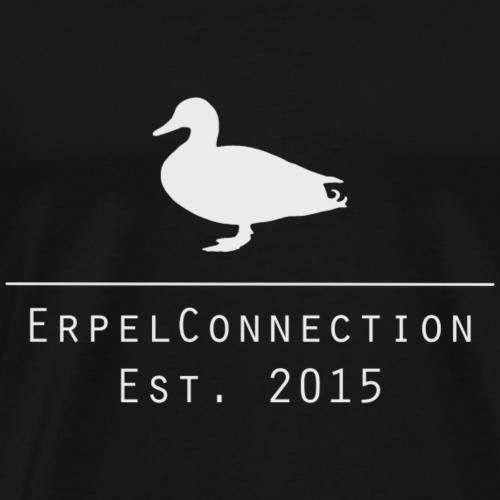 ErpelConnectionLogo in Grau - Männer Premium T-Shirt