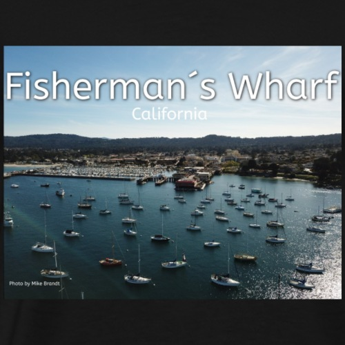 Fisherman´s Wharf California - Männer Premium T-Shirt
