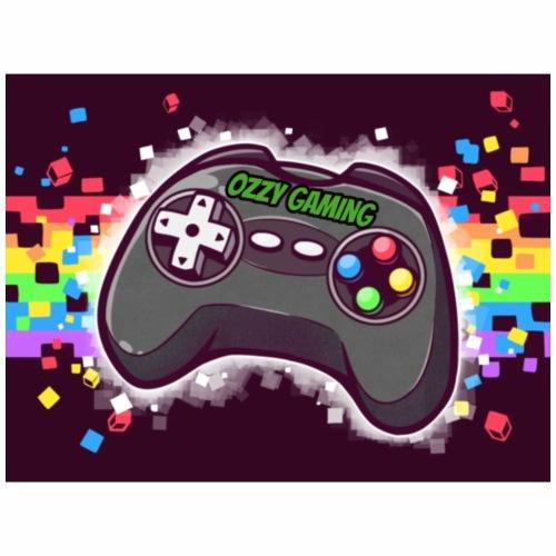 ozzy gaming logo style - Männer Premium T-Shirt