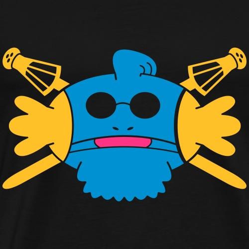 Gobou Aveugle - T-shirt Premium Homme