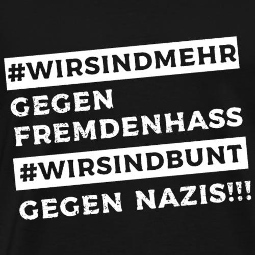 WIRSINDMEHR - Männer Premium T-Shirt