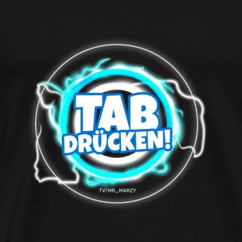 Tab drücken! (Dark) - Männer Premium T-Shirt