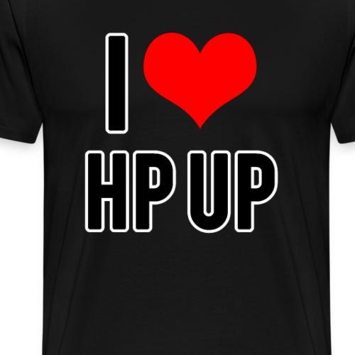 I love HP UP - Männer Premium T-Shirt