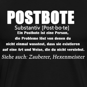 Postbote - Postbote Definition - Männer Premium T-Shirt